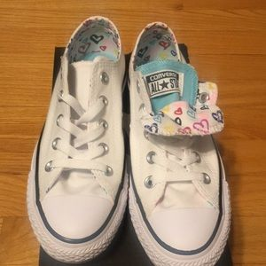Converse All Star Double Tongue Heart US 6